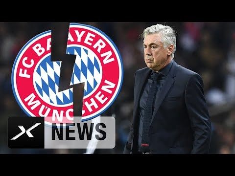 Bayern-Hammer! FC Bayern München feuert Carlo Ancelotti | News | FC Bayern München | SPOX
