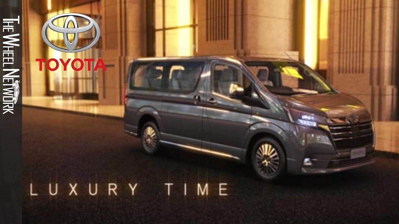 The new Toyota Granvia Eight-seater MPV - YouTube