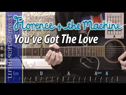 Florence + The Machine - You've Got The Love Simple Guitar Lesson
