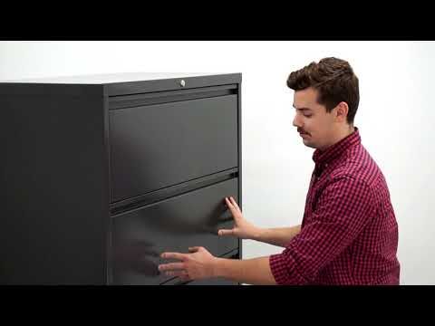 Fix A Lateral File Cabinet If The Drawers Won't Open
