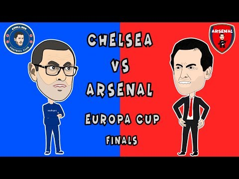 Chelsea vs Arsenal Europa Cup Finals.
