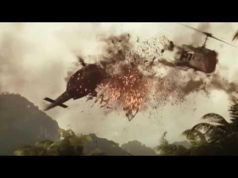 Skull Island Helicopter Scene