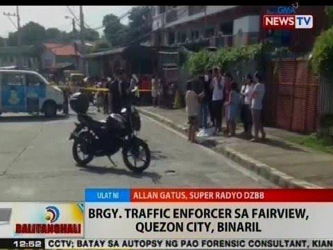 BT: Brgy. traffic enforcer sa Fairview, QC, binaril