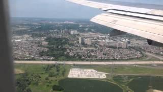 Toronto Pearson International Airport Approach and Landing BA 747-400