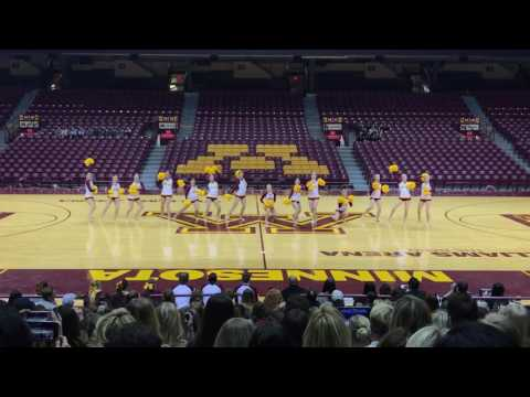 DanceFullOutMN - University of Minnesota Dance Team Pom 2017