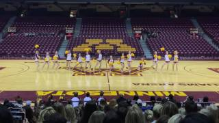 dancefulloutmn university of minnesota dance team pom 2017