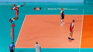 Volleyball Players Without Gravity | Monsters of the Vertical Jump #1 (HD)