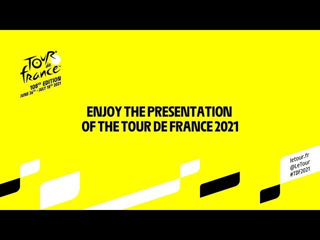#TDF2021 - Live presentation of the Tour de France 2021!