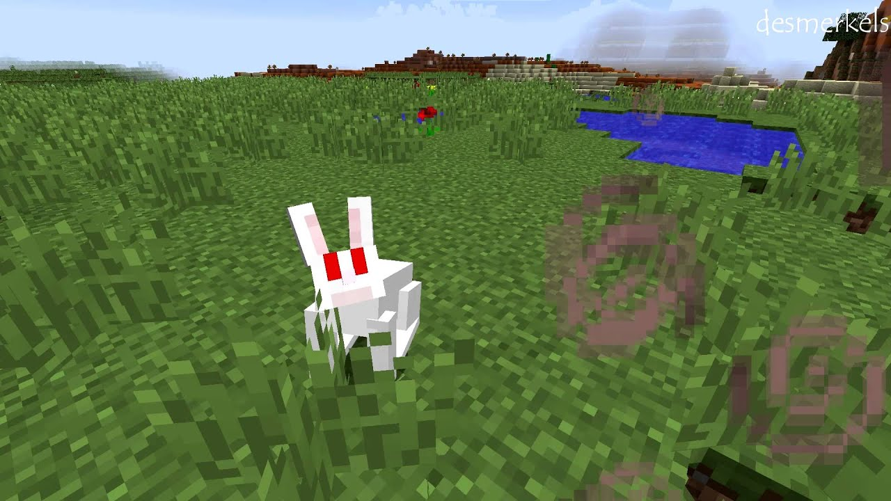 как в майнкрафте 1.8 разводить зайцав