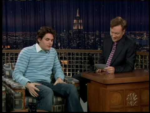 John Mayer   Interview @ Conan (January 12th, 2005)