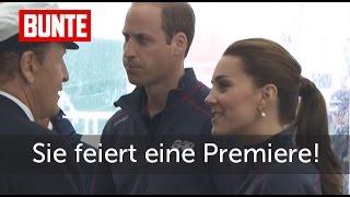Herzogin Kate - Heute feiert sie eine Premiere - aber einer fehlt...  - BUNTE TV