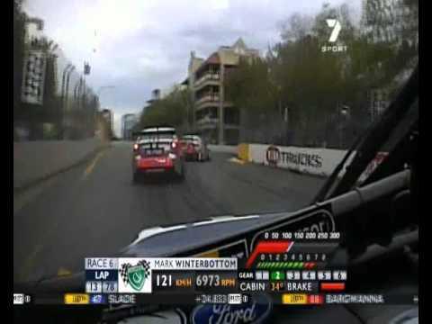 Adelaide2010 Race2 Winterbottom Onboard Lap