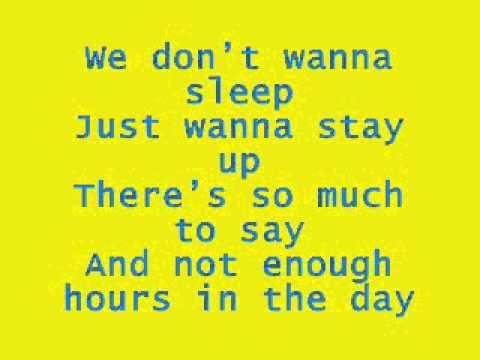 On The Ride - Aly and AJ - Lyrics