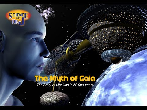 The Myth of Gaia Movie Trailer - The World in 50,000 Years - A Science Fiction Saga