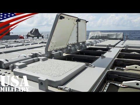 米海軍イージス艦の艦橋・CIC(戦闘指揮所)・Mk41 VLS(ミサイル発射機) - US Navy Destroyer of Bridge, CIC, Mk 41 VLS