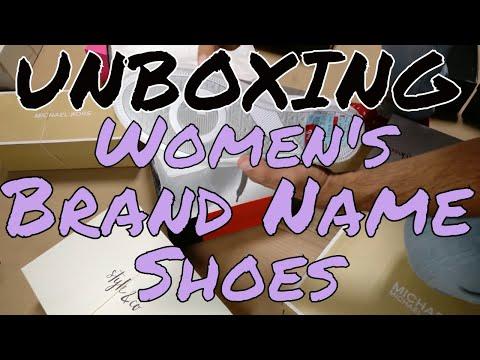 HE Department Store Shelf-Pull Women's Branded Shoe Lots