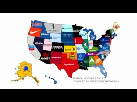 What's the Biggest Business in Your State?