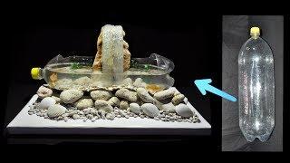DIY cara membuat aquarium dengan botol plastik