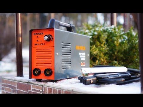 Как варить сварочным аппаратом HAMER внахлест (аппарат HAMER)