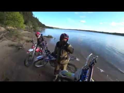 Летающий Володя / Приключения вдоль реки / Avantis 300 pro / Kayo T2 MX / BSE питбайк