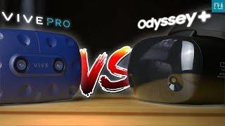 Samsung Odyssey Plus + VS HTC Vive Pro - The Top VR Comparison