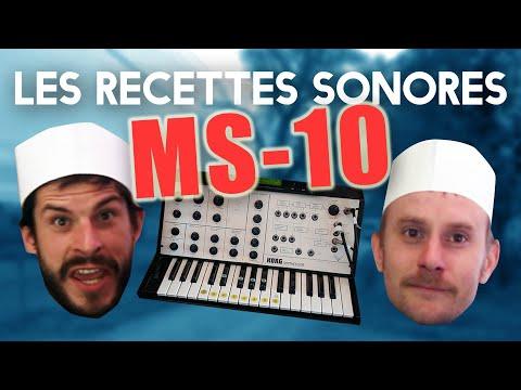 Les recettes sonores #1 – LE TARTARE DE KORG MS-10