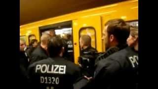Ratlos in Berlin - Berliner Polizei weiß nich was ist was war und was man dagegen tut.