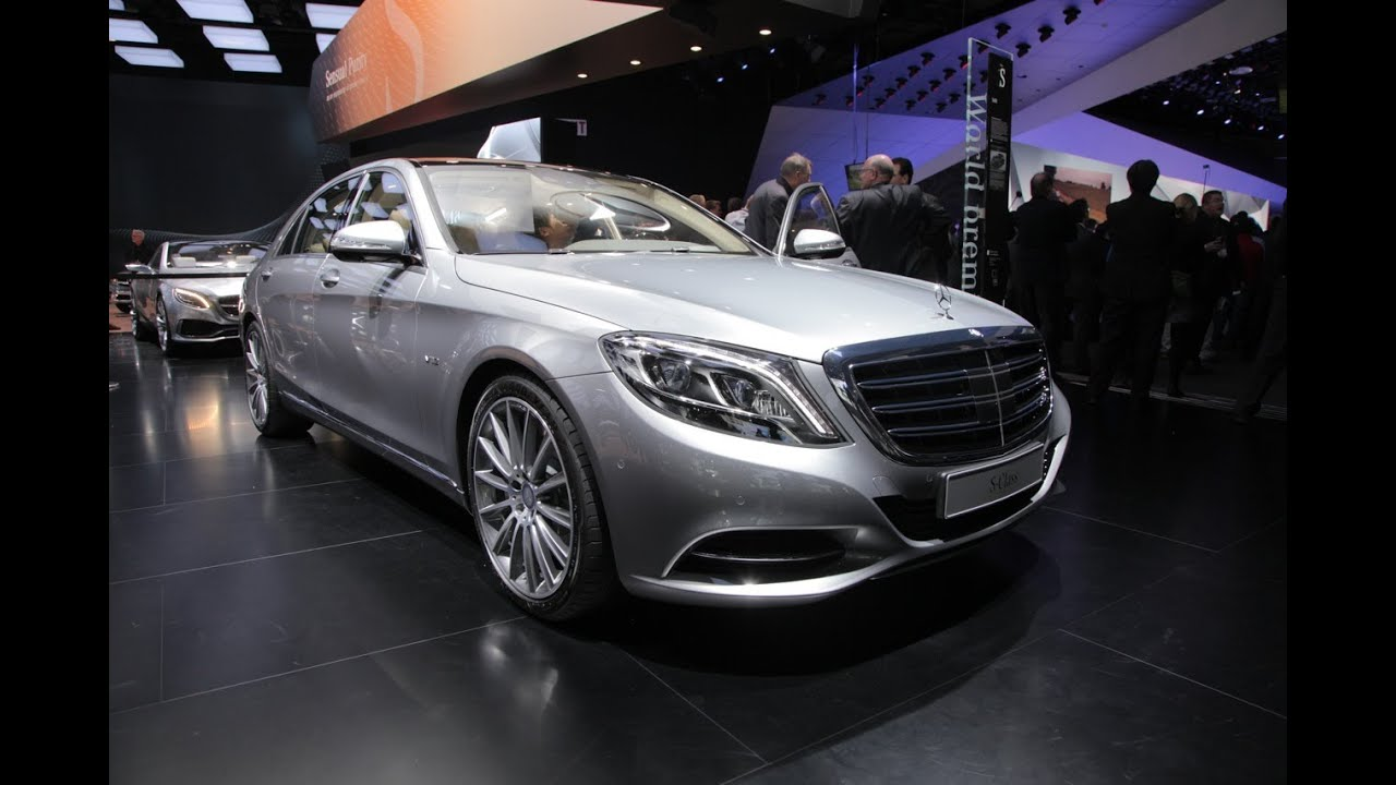 2015 mercedes benz s600 2014 detroit auto show youtube for Mercedes benz s600 2015
