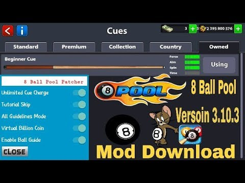 8 ball pool mod apk 4. 0. 2 guideline trick (no root) download now.