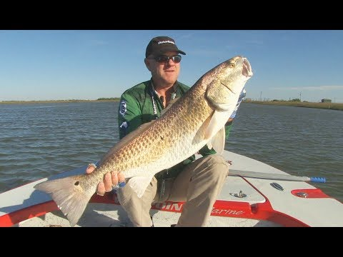 FOX Sports Outdoors SouthWEST #7 - 2018 Lake Calcasieu Louisiana Redfish Fishing