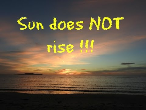 There is NO Sunrise on Flat Earth - Nikon coolpix P900 thumbnail