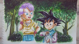 Speed Drawing Goten and Trunks