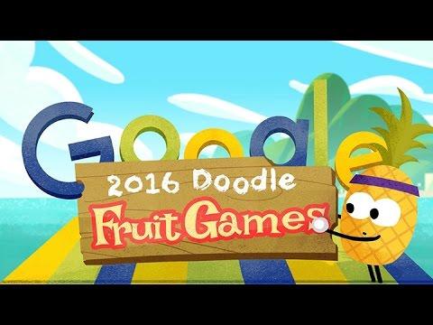 Desde Hoy Se Puede Jugar Con Los Doodles De Google Y Competir En Natación Equitación O Tenis Youtube