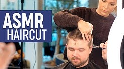 ASMR Relaxing Haircut - Professional Scissor Cut - Sleep Inducing