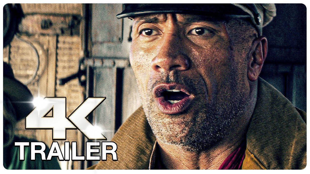 JUNGLE CRUISE Trailer (4K ULTRA HD) NEW 2021