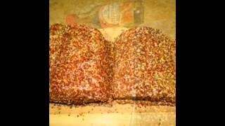 Холодные закуски мясные:Свиная корейка Терияки шприцованная