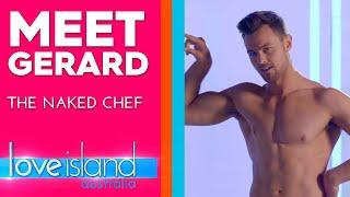 Meet Gerard: Personal trainer who runs naked cooking segments | Love Island Australia 2019