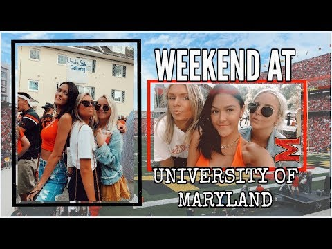 College Weekend In My Life || University Of Maryland Vlog