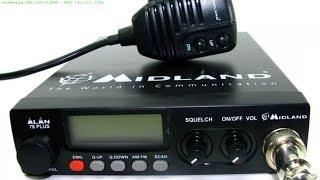 Временная установка радиостанции Midland Alan 78 Plus в Рено Дастер для поездки в Сочи