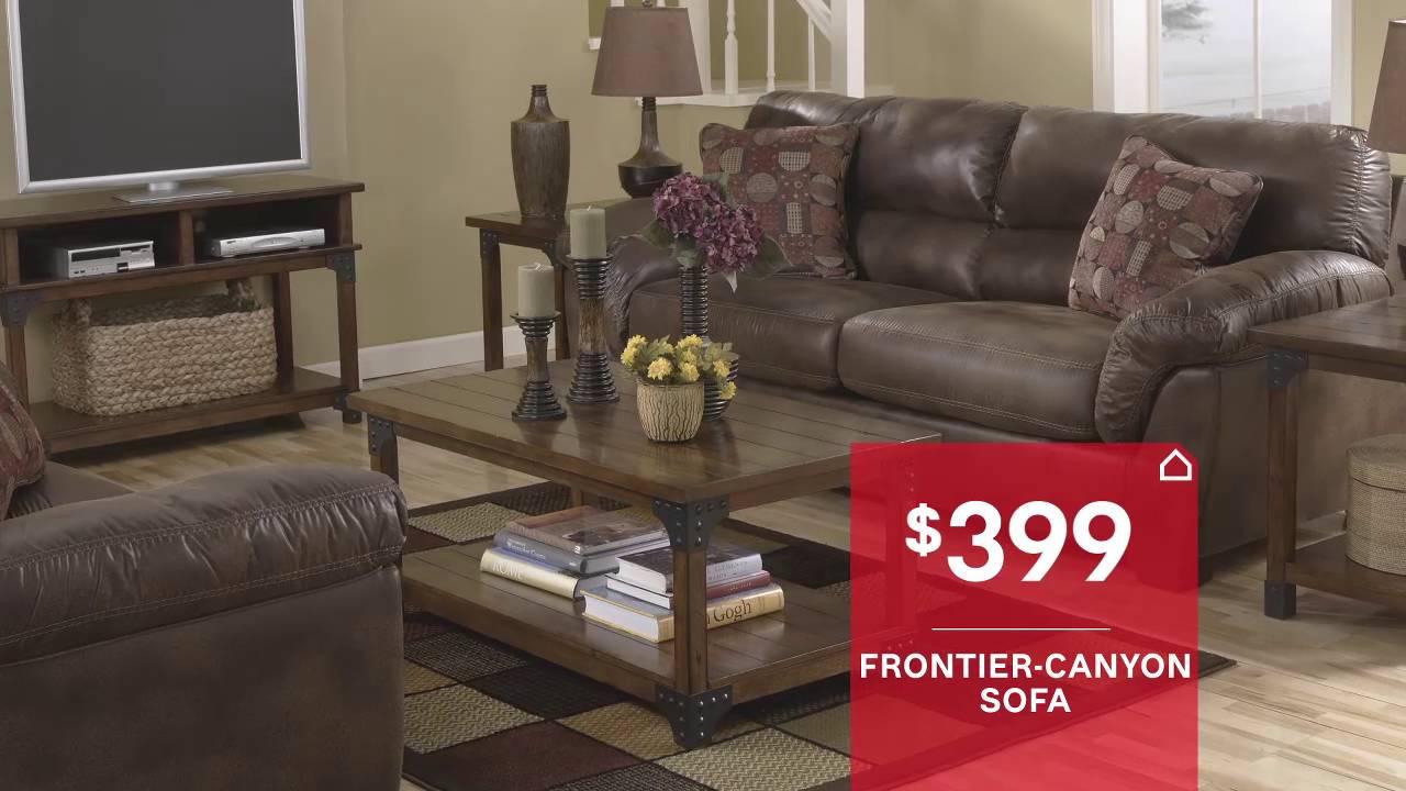memorial day furniture sale springfield mo ashley furniture homestore youtube. Black Bedroom Furniture Sets. Home Design Ideas