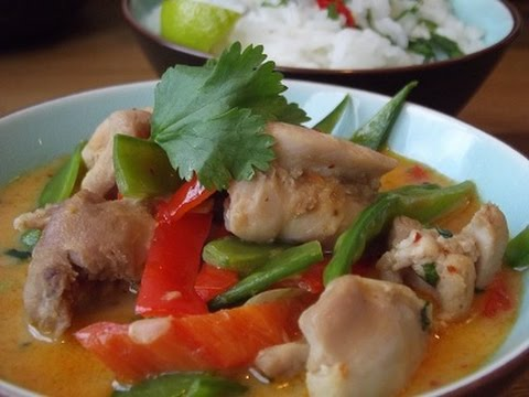 Low Fat Red Thai Chicken Curry