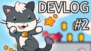 Indie Game Dev Tips | Super Cat Tales 2 - DevLog #2