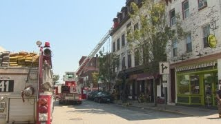 New London fire shuts down State Street