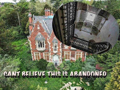Exploring Abandoned 17th Century Mansion  (OWNER JUST UP AND LEFT)