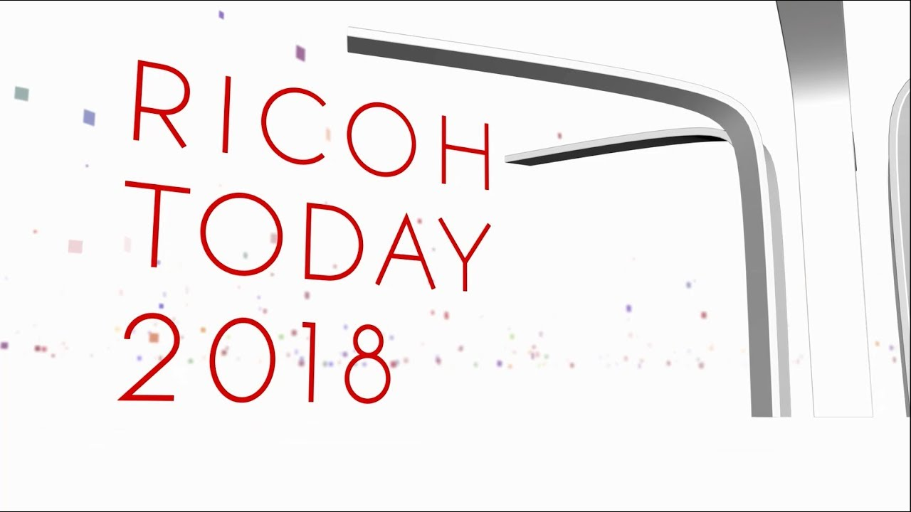 ricoh today 2018 日本語 youtube