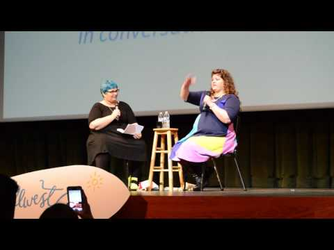 YALLWEST 2016 - Keynote Speaker Rainbow Rowell - YouTube