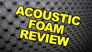 Acoustic Foam Review - Making Your Own Home Recording Studio