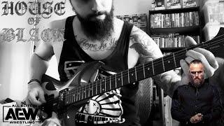 "Malakai Black AEW theme guitar cover   ""Ogentroost"" by AMENRA"