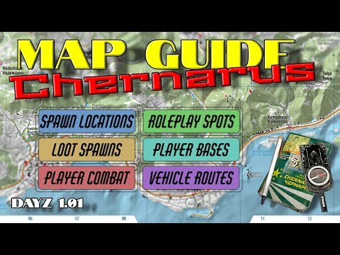 Full Map Breakdown - Guide to Chernarus [DayZ 1.01]