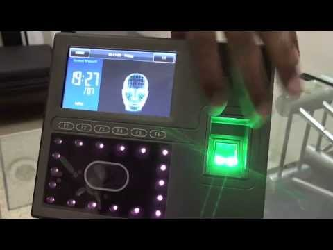ZK iface800 Face Recognition biometric time attendance machine